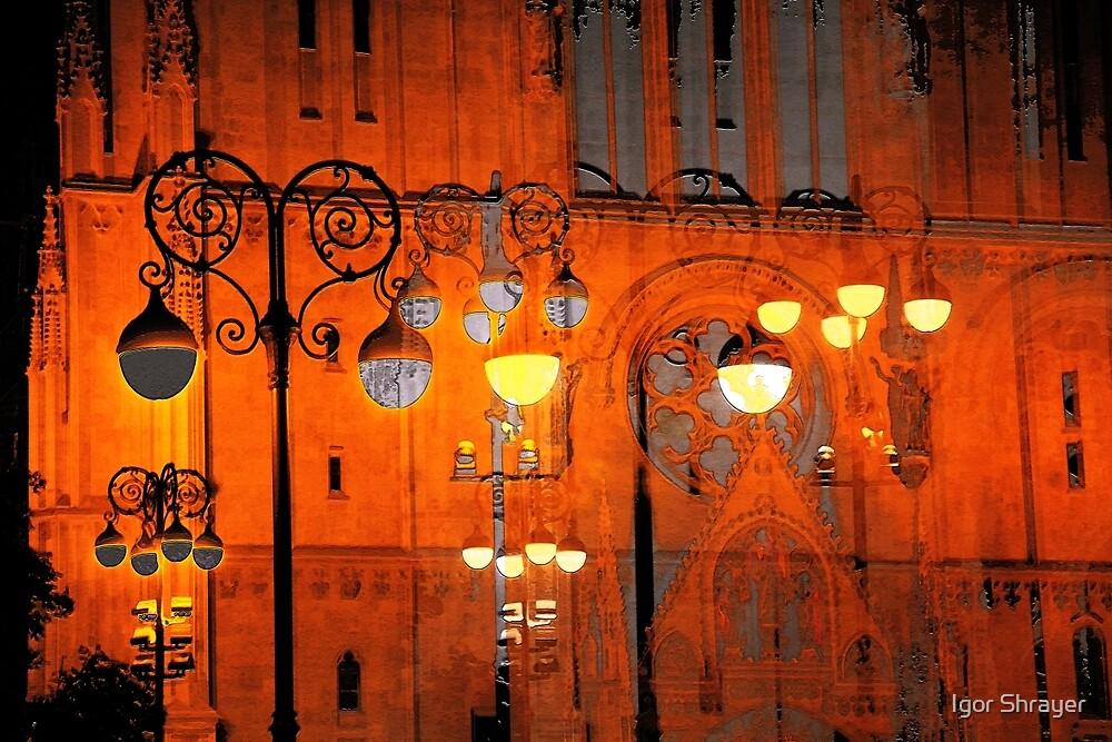 The Essence of Croatia - Zagreb Night Lights by Igor Shrayer