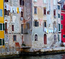 The Essence of Croatia - Pastel Houses of Rovinj by Igor Shrayer