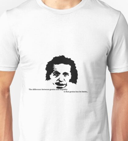 albert einstein Unisex T-Shirt