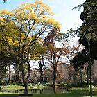 Melbourne Carlton Gardens by katkeldeen