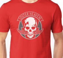 Metal Gear Solid - Outer Heaven (transparent) Unisex T-Shirt