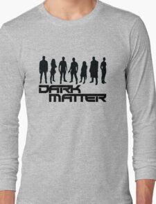 dark matter - black Long Sleeve T-Shirt