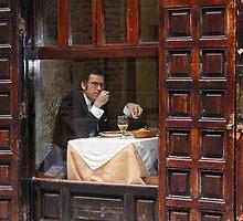 Memories of Spain 3 - Lonely Man Dinner in Madrid's Latin Quarter by Igor Shrayer