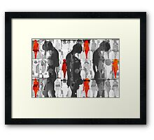 Body Language 35 Framed Print