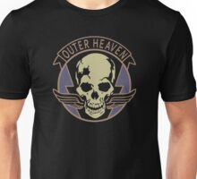 Metal Gear Solid - Outer Heaven (Alternate coloring, transparent) Unisex T-Shirt