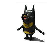 bat minion man by rambulrebes