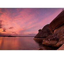 Two Peoples Bay Sunset Photographic Print