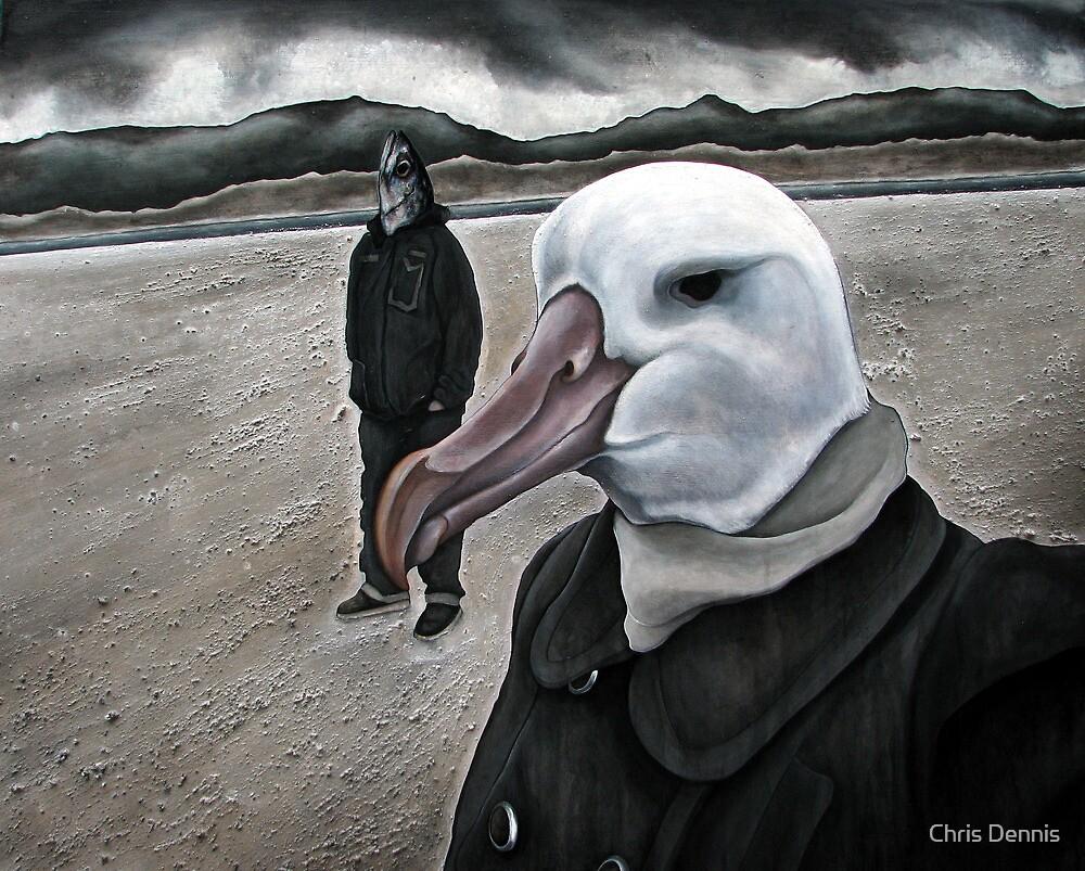 Albatross Hunting by Chris Dennis