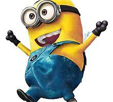 happy minion by rambulrebes