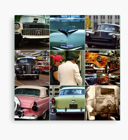 Back to the Bricks 2010 Collage Canvas Print