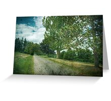 Golf Course Rd Greeting Card