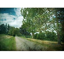 Golf Course Rd Photographic Print