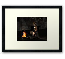 The Lonely Rogue Framed Print