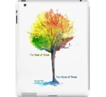 The Best of Times and The Worst of Times iPad Case/Skin