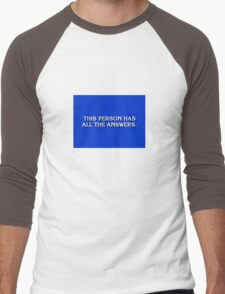 Game Show Winner Men's Baseball ¾ T-Shirt