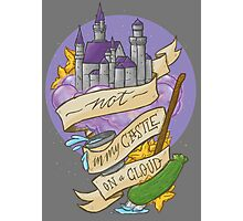 Not in my castle on a cloud Photographic Print