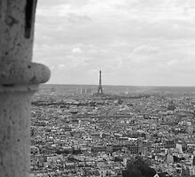 Paris en Noir et Blanc  by Virginia Kelser Jones