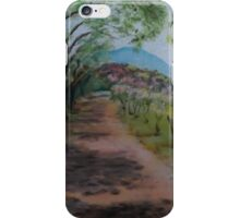 Outside Hadrian's Villa iPhone Case/Skin