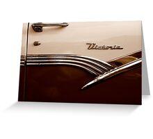 Automotive Nostalgia ~ Part Two Greeting Card