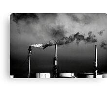 Smokestack San Francisco Bay Area Canvas Print