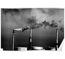 Smokestack San Francisco Bay Area Poster
