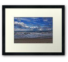 Ocean Waves Framed Print