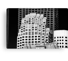 Sky Boxes San Francisco Canvas Print