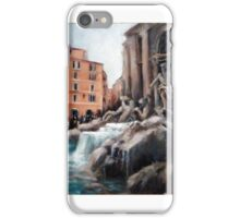 Trevi fountain (Rome) iPhone Case/Skin
