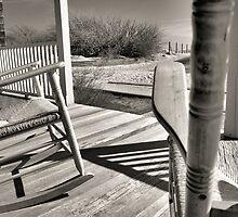 Porch Rockers - Sandy Hook, NJ by KGSPhoto
