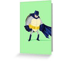 Heroes in a Half Shell: Batman Greeting Card