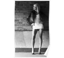 Little White Dress 005 Poster