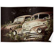 Vintage Automobiles Poster