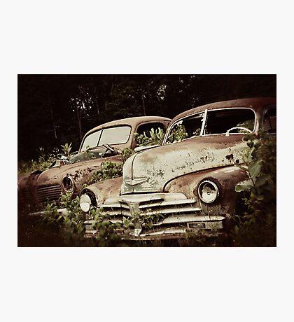 Vintage Automobiles Photographic Print