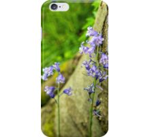 Bluebells and Tree iPhone Case/Skin