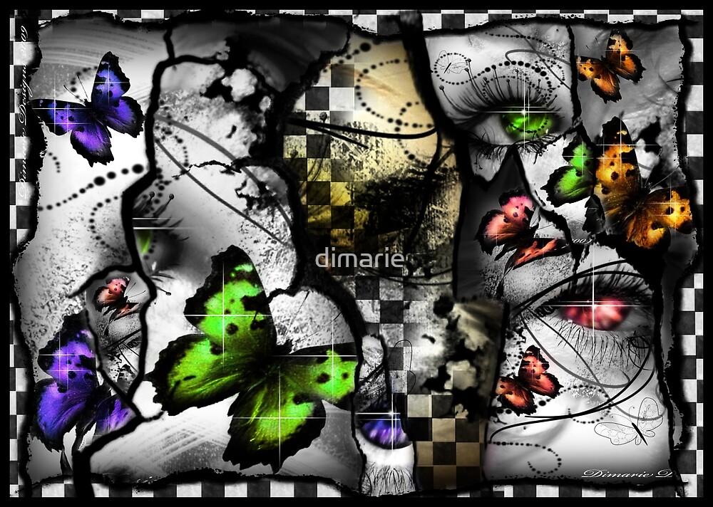 Fragmented Reasons of air  by dimarie