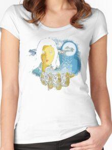 Phenomena Women's Fitted Scoop T-Shirt