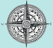 Compass with Sun  by alicemansf
