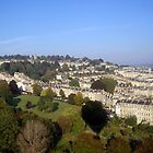 Aerial views of Bath, Somerset by heidiannemorris
