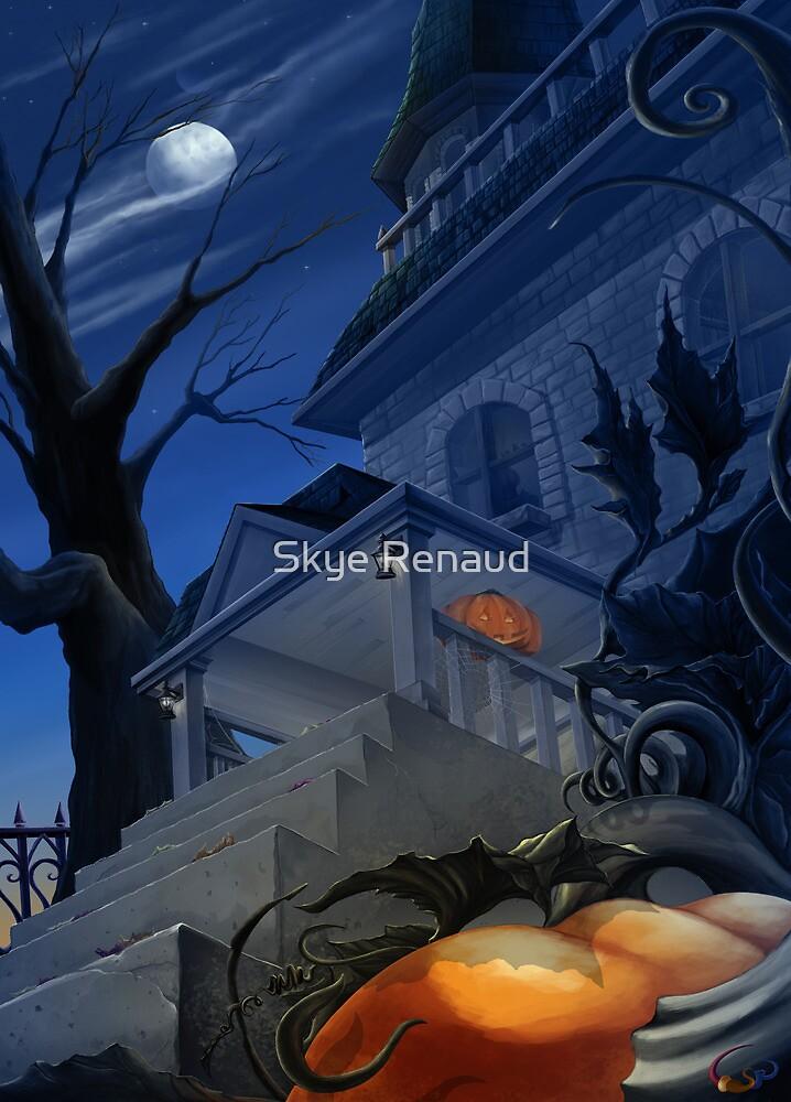 Halloween Porch by Skye Renaud