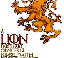 Lanniser Lion by ivolver