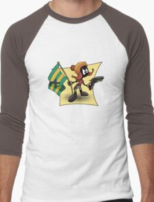 Marvin the Browncoat Men's Baseball ¾ T-Shirt