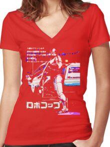 Murphy Women's Fitted V-Neck T-Shirt