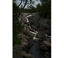 White Sands waterfall Northern Ontario Photographic Print