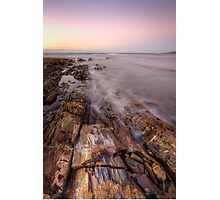 Sunset in Burnie Photographic Print
