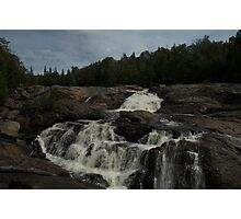 White Sands waterfall (2) Northern Ontario Photographic Print