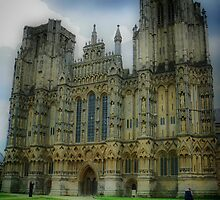 Wells Cathedral 2, Somerset, UK by Spiritmaiden