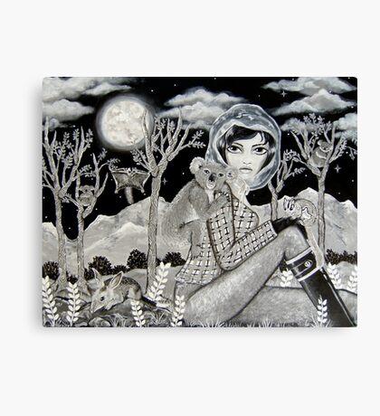 Nocturnal Canvas Print