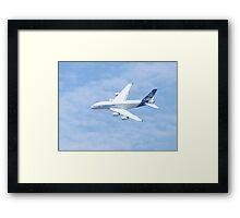 Airbus 380 Framed Print