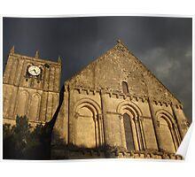 Eglise de Saint Savinien Poster