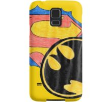 Superman, batman. Samsung Galaxy Case/Skin